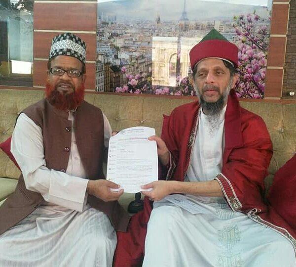 With Shaykh Ismail Hj KASSIM from Malayshia
